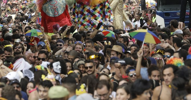 Staid Sao Paulo is getting in on Carnival fun in Brazil