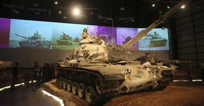 Tank museum displaying 110 battle-worn tanks opens in Jordan