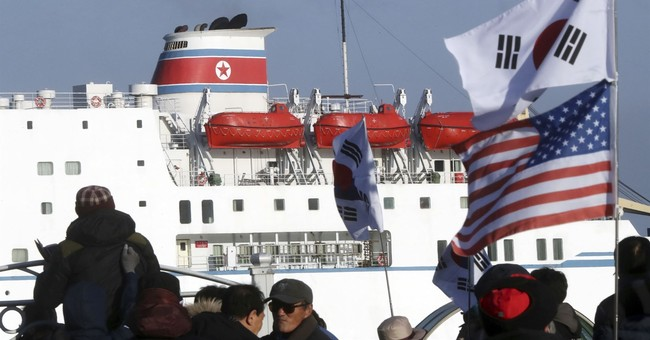 By boat, N. Korean musicians arrive in South for Olympic gig
