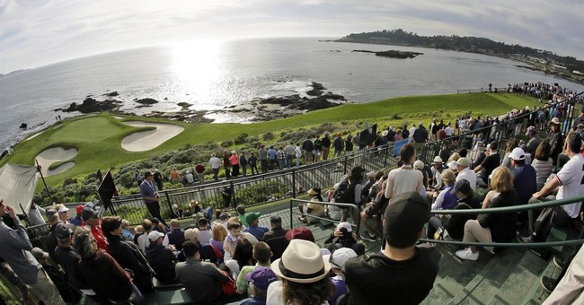 Column: Pebble Beach more than a meeting of land and sea