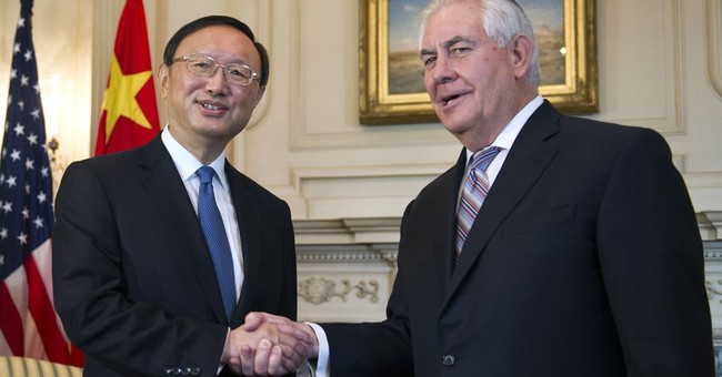 China says senior foreign policy adviser to meet Tillerson