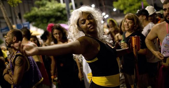 Women at Brazil Carnival push back against harassment