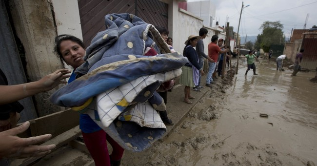 Bolivia: 2 people killed by rain-fueled landslide, 1 missing