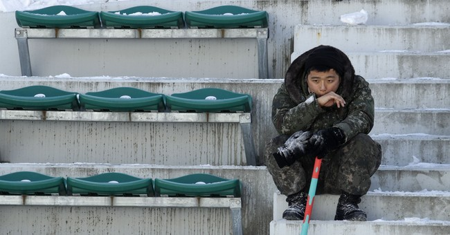 Athletes, organizers contend with icy weather in Pyeongchang