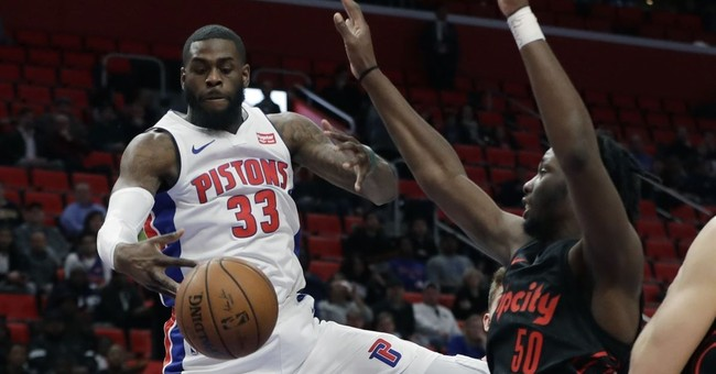 Pistons C Willie Reed suspended 6 games by NBA