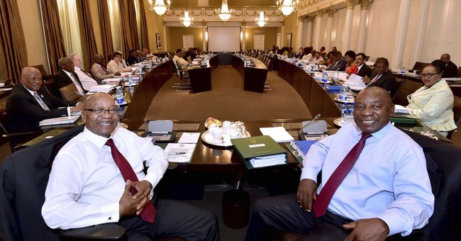 AP Explains: Who's in charge in South Africa these days?