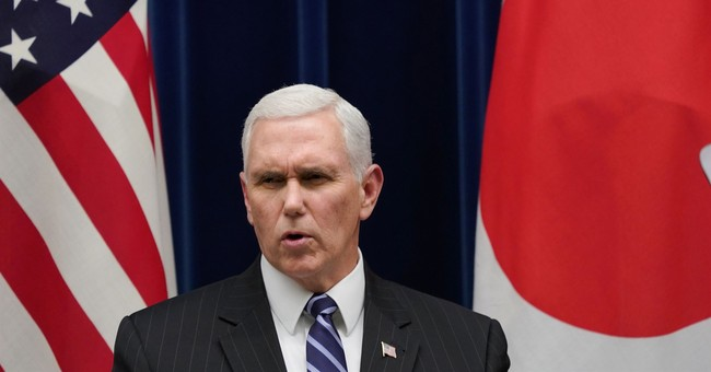 Pence pouring cold water on warming ties between 2 Koreas