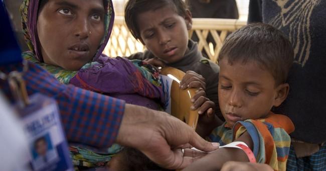 AP Exclusive: Rohingya say military cut off food in Myanmar