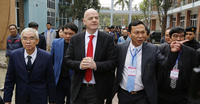 FIFA president praises Russian World Cup preparations
