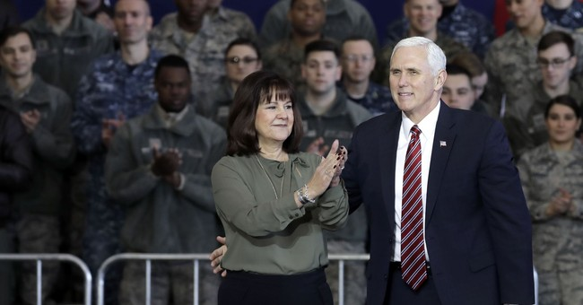 The Latest: Pence meets S. Korean leader, vows US support