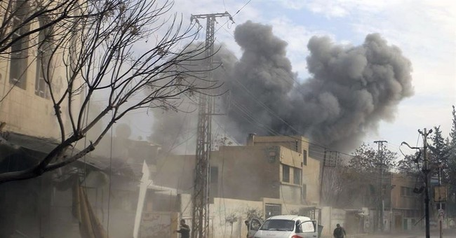 Syria says rare US strike an effort 'to support terrorism'