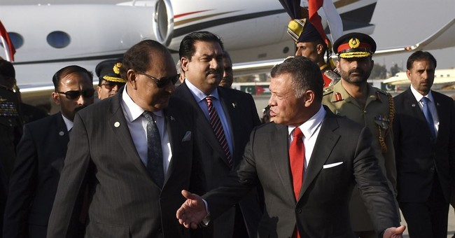 Jordan's king arrives in Pakistan for talks with officials
