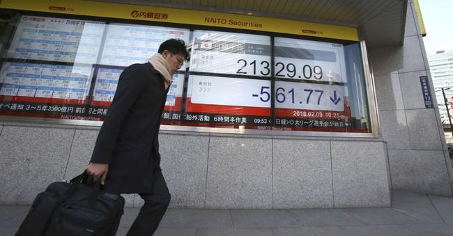 Global stocks sink after major US index enters correction