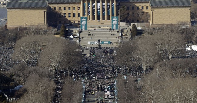 Eagles, Philly fans get catharsis through Super Bowl parade