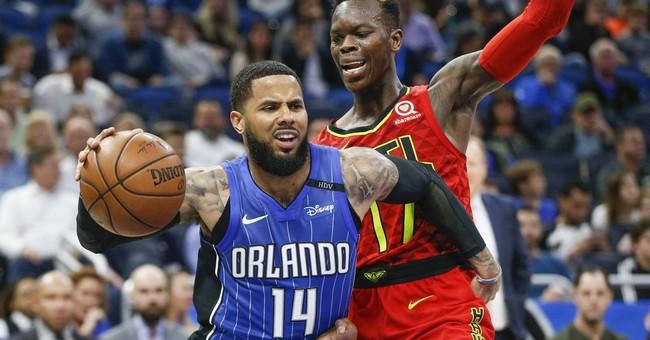 Fournier helps Magic edge Hawks 100-98