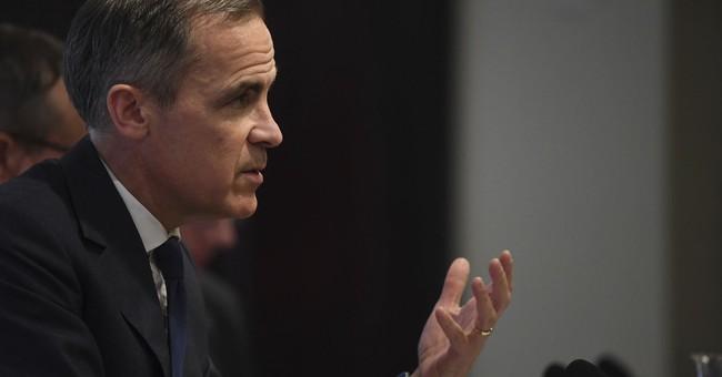 The Latest: Bank of England says market turmoil no surprise