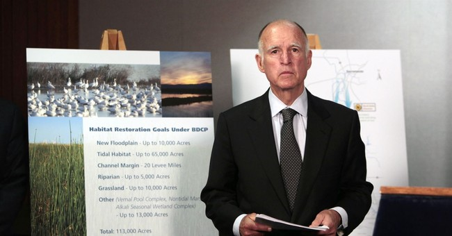 Gov. Jerry Brown trims giant water-tunnels project