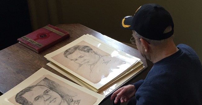 Faces of war: Who are the men in soldier's WWII sketches?