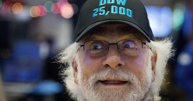 Dow 30K? As a milestone falls, Trump talks up a new one