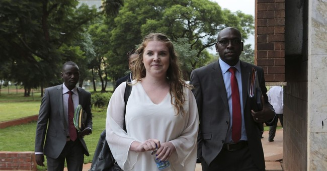American charged with subversion in Zimbabwe freed 'for now'
