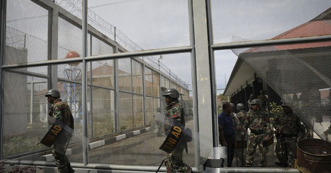 Inmates riot, set fires at prison in Indonesia's Aceh