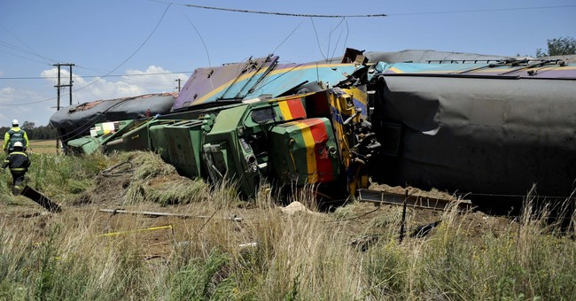 Police open manslaughter case in South Africa train crash