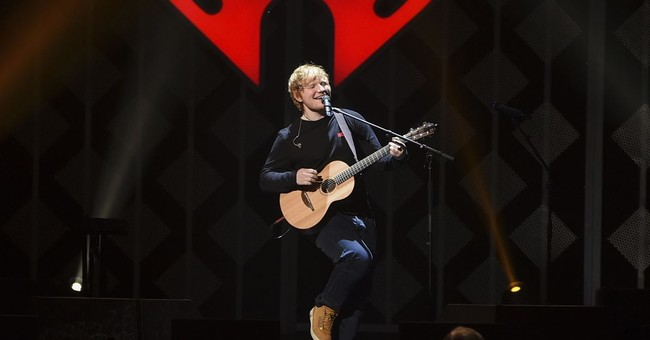 Ed Sheeran helps music industry hit a high note in 2017