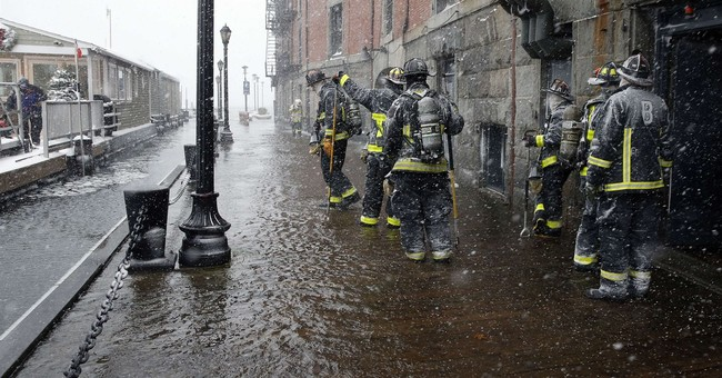 East Coast storm brings crashes, flooding and outages