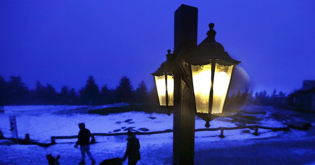 The Latest: Winter storm causes 3rd death in France