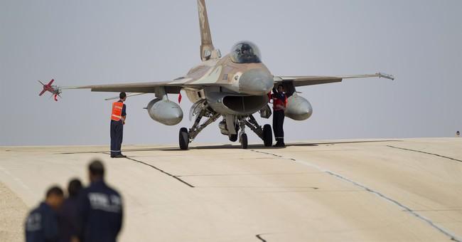Israel strikes Syria, downs Iranian drone, as F-16 crashes