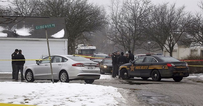 The Latest: Man accused of killing 2 Ohio officers charged