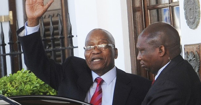 The Latest: South Africa's ANC says Zuma must leave office