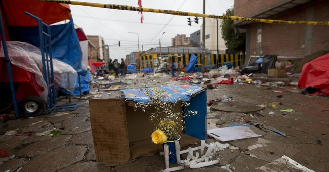 8 dead, 40 hurt by exploding gas canister in Bolivia