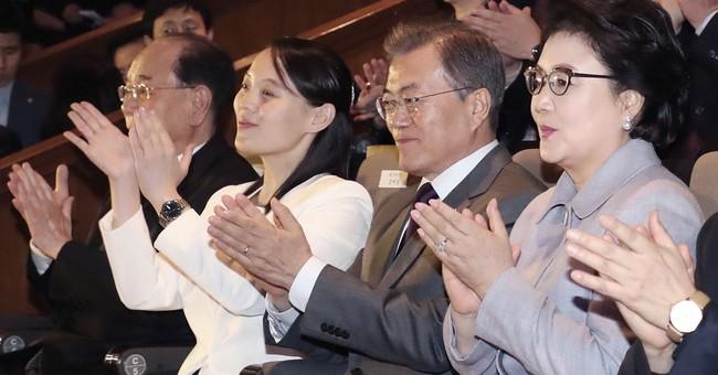 The Latest: Kim Jong Un's sister departs South Korea