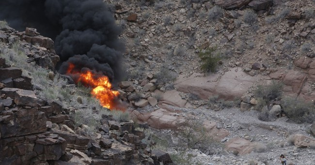 System to minimize fire not standard in Grand Canyon copter