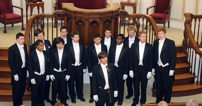 Poof! Ivy League glee club's gender restrictions disappear