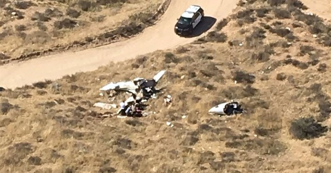 Officials: 4 killed in Southern California small plane crash