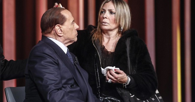 Italy's ex-premier Berlusconi campaigns against populism