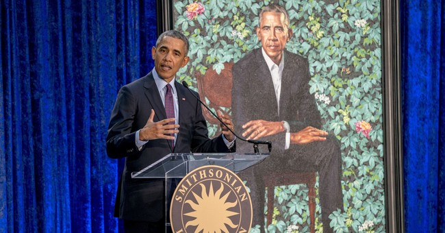 The Latest: Obama: Working with artist on a portrait a 'joy'