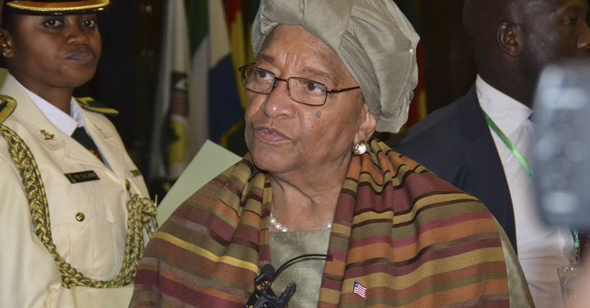 Liberia's Ellen Johnson Sirleaf wins Africa leadership prize