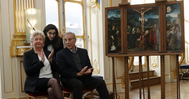France gives long-unclaimed artwork to Jewish couple's heirs