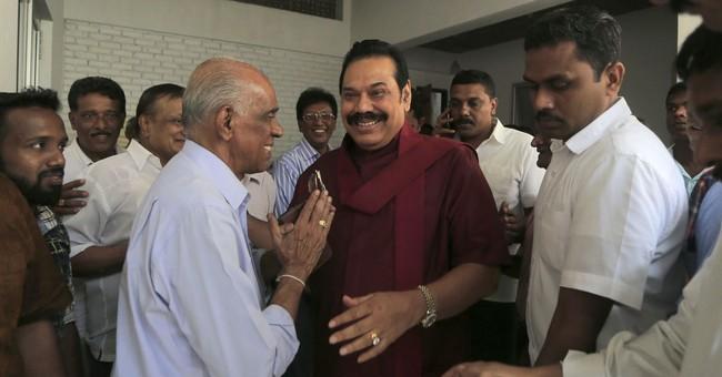 Sri Lanka's former strongman calls for snap elections