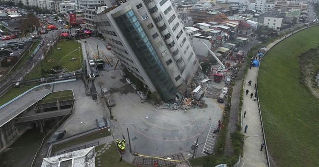Memorial service honors 17 Taiwan quake victims