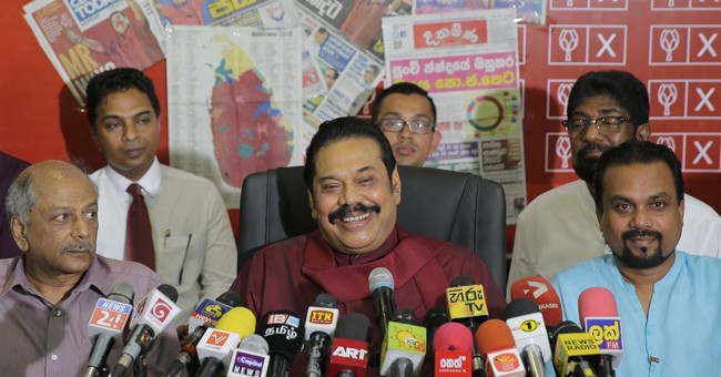 Sri Lanka's former strongman calls for snap elections