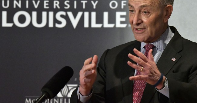 Chuck Schumer visits Mitch McConnell's hometown in Kentucky