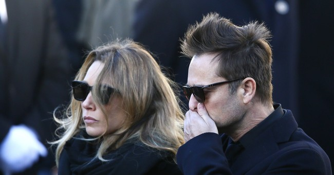 Hallyday's daughter to contest late French rock star's will