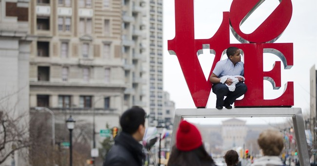 Philadelphia throwing parade as it gets its 'LOVE' back