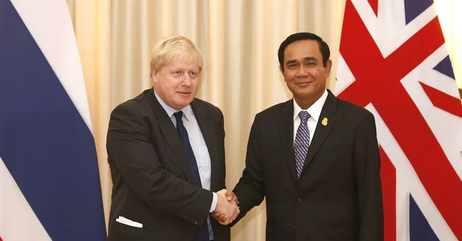 Boris Johnson discusses Rohingya, elections in Thailand