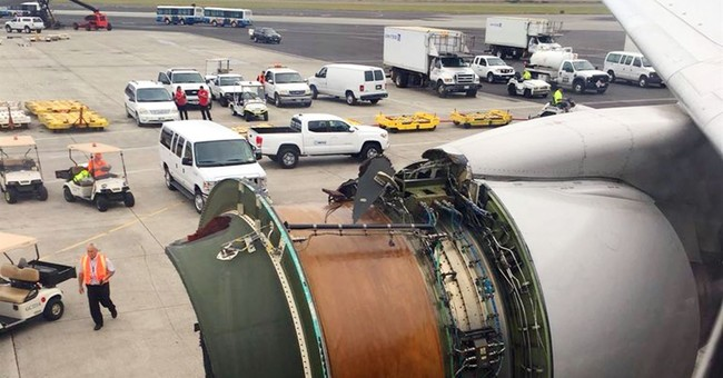 Official: Flight lands in Honolulu after losing engine cover