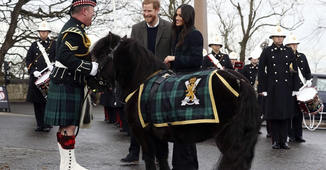 Prince Harry, Meghan Markle visit Scotland ahead of wedding